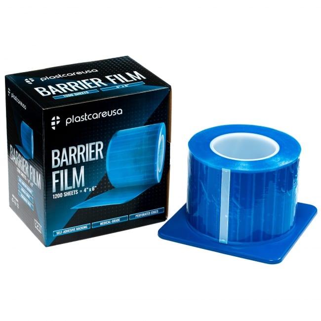 Blue Barrier Film