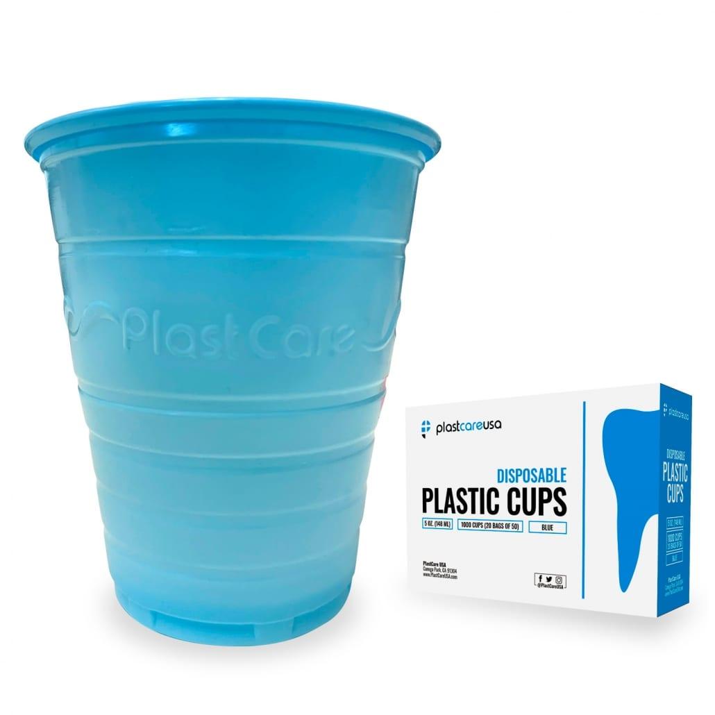 Patient Rinse Cups (5 Oz) - Blue