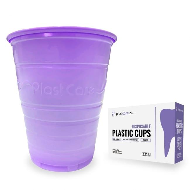 Patient Rinse Cups (5 Oz) - Purple