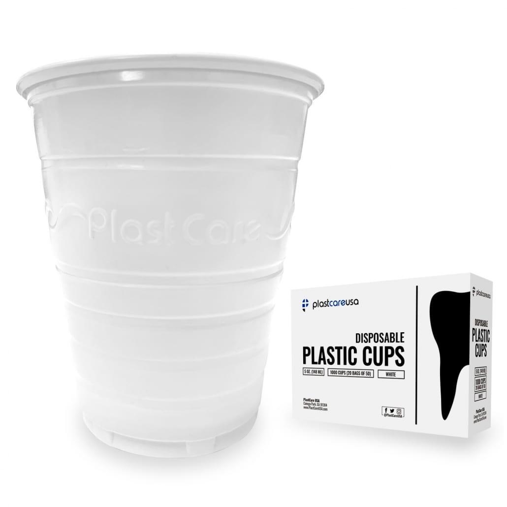 Patient Rinse Cups (5 Oz) - White