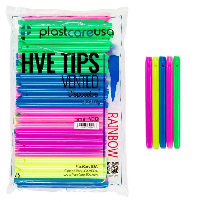 HVE Tips Assorted Rainbow