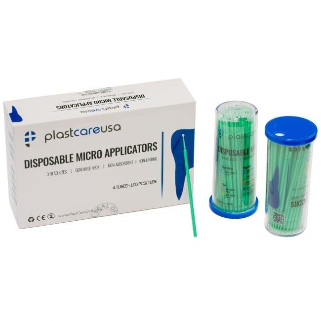 Micro Applicator Brushes Green