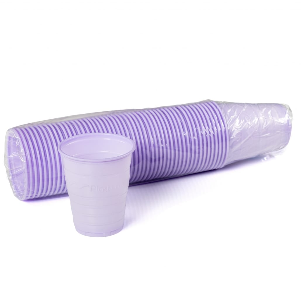 Patient Rinse Cups (5 Oz) Purple
