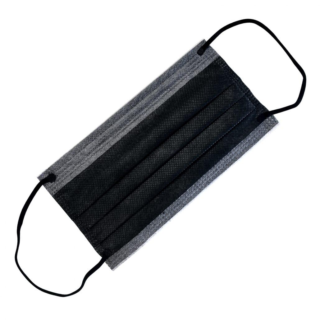 Black ASTM Level 1 Disposable Ear Loop Masks