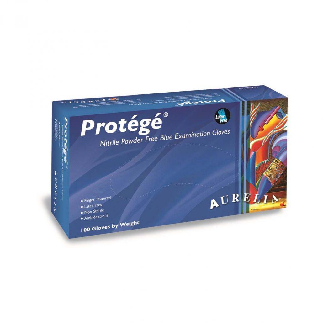 Aurelia Protege – Sky Blue Nitrile 4.0 mil Gloves