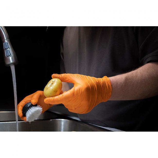 Aurelia Ignite – Orange Nitrile 6.0 mil Gloves